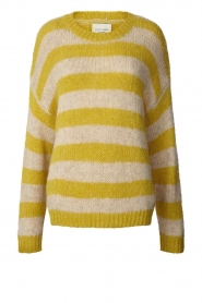 Lolly's Laundry |  Knitted sweater Terry | yellow  | Picture 1