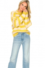 Lolly's Laundry |  Knitted sweater Terry | yellow  | Picture 2