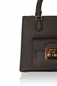 Leather mini bag Bridgette | black