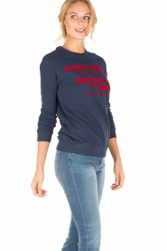 Zoe Karssen | Sweater Good Girls | donkerblauw  | Afbeelding 3