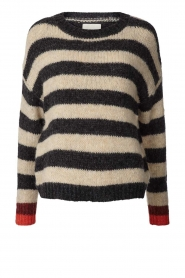 Lolly's Laundry |  Knitted sweater Terry | black  | Picture 1
