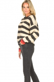 Lolly's Laundry |  Knitted sweater Terry | black  | Picture 5