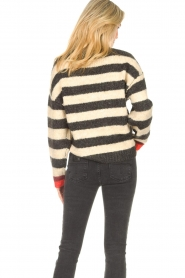 Lolly's Laundry |  Knitted sweater Terry | black  | Picture 6