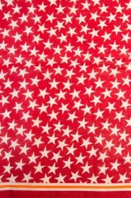 Becksöndergaard | Sjaal Etoiles | rood  | Afbeelding 4