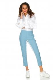 ELISABETTA FRANCHI | Pantalon Donate | Blauw  | Afbeelding 3