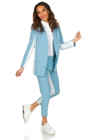ELISABETTA FRANCHI | Pantalon Donate | Blauw  | Afbeelding 6