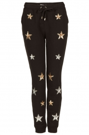 Zoe Karssen | Sweatpants Sequin Stars | zwart  | Afbeelding 1