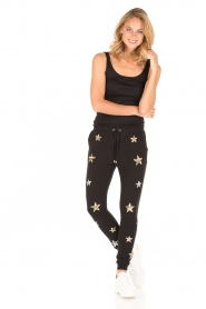 Zoe Karssen | Sweatpants Sequin Stars | zwart  | Afbeelding 3