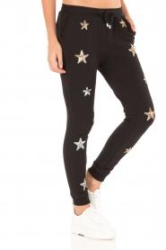 Zoe Karssen | Sweatpants Sequin Stars | zwart  | Afbeelding 4