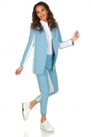 ELISABETTA FRANCHI |  Blazer Delanna | Blue  | Picture 3