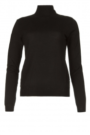 Patrizia Pepe |  Turtleneck sweater Sebastiana | black  | Picture 1
