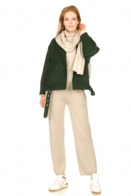 Knit-ted |  Merino turtle neck sweater Lois | beige  | Picture 3