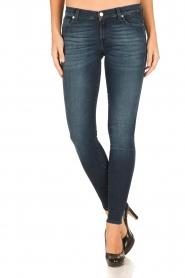 7 For All Mankind | Skinny jeans Swarovski lengtemaat 30 | blauw  | Afbeelding 2