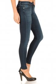 7 For All Mankind | Skinny jeans Swarovski lengtemaat 30 | blauw  | Afbeelding 4