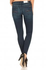 7 For All Mankind | Skinny jeans Swarovski lengtemaat 30 | blauw  | Afbeelding 5