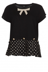 ELISABETTA FRANCHI |  Top Elena | black  | Picture 1