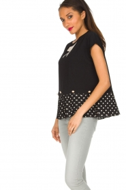 ELISABETTA FRANCHI |  Top Elena | black  | Picture 4