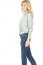Knit-ted |  Merino sweater Mia | blue  | Picture 5