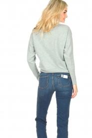 Knit-ted |  Merino sweater Mia | blue  | Picture 6