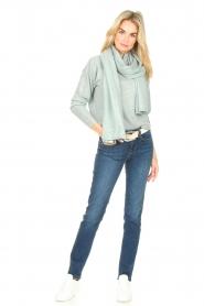 Knit-ted |  Merino sweater Mia | blue  | Picture 3