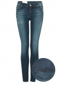 7 For All Mankind | Skinny jeans Slim Illusion lengtemaat 30 | blauw  | Afbeelding 1