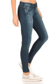 7 For All Mankind | Skinny jeans Slim Illusion lengtemaat 30 | blauw  | Afbeelding 4