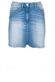ELISABETTA FRANCHI | Set van rok en blouse Cira | blauw  | Afbeelding 8