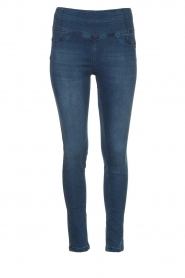 Patrizia Pepe |  High-waist jegging Lola | blue  | Picture 1