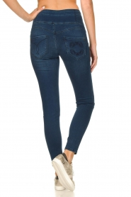 Patrizia Pepe |  High-waist jegging Lola | blue  | Picture 7