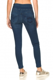Patrizia Pepe |  High-waist jegging Lola | blue  | Picture 6
