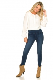 Patrizia Pepe |  High-waist jegging Lola | blue  | Picture 3