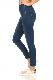 Patrizia Pepe |  High-waist jegging Lola | blue  | Picture 5