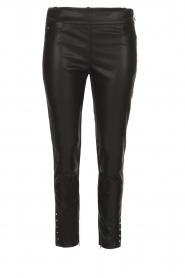 ELISABETTA FRANCHI | Skinny broek Cianna | zwart  | Afbeelding 1