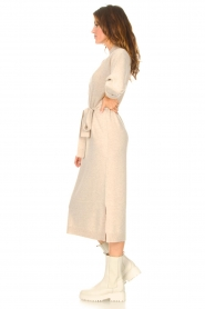 Knit-ted |  Midi sweater dress Lina | beige  | Picture 5