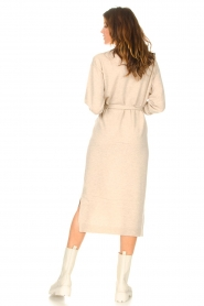 Knit-ted |  Midi sweater dress Lina | beige  | Picture 6