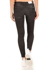 7 For All Mankind | Skinny jeans The Skinny | zwart  | Afbeelding 5