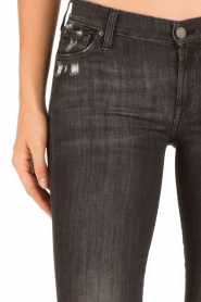 7 For All Mankind | Skinny jeans The Skinny | zwart  | Afbeelding 6