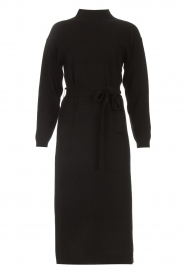 Knit-ted |  Midi sweater dress Lina | black  | Picture 1