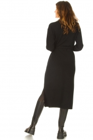 Knit-ted |  Midi sweater dress Lina | black  | Picture 7