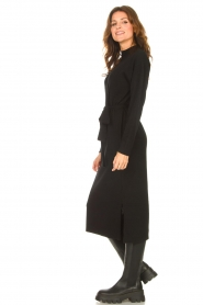 Knit-ted |  Midi sweater dress Lina | black  | Picture 6