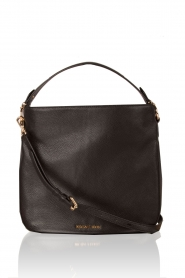 Leather shoulder bag Heidi | black