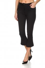 ELISABETTA FRANCHI | Flared jeans Faustine | Zwart  | Afbeelding 2