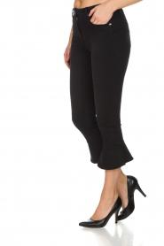 ELISABETTA FRANCHI | Flared jeans Faustine | Zwart  | Afbeelding 4