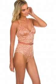 Love Stories |  Leopard printed swimsuit Maddy | pink  | Picture 4