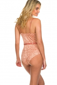 Love Stories |  Leopard printed swimsuit Maddy | pink  | Picture 5