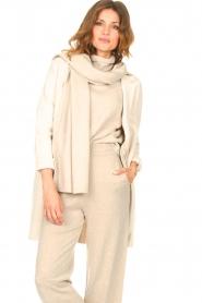 Knit-ted |  Blazer cardigan Sammie | beige  | Picture 2