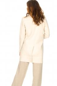 Knit-ted |  Blazer cardigan Sammie | beige  | Picture 7
