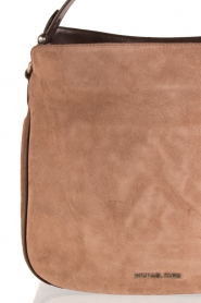 Suede shoulder bag Heidi | brown