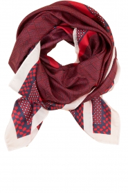 Becksöndergaard |  Scarf Herriot | red  | Picture 1
