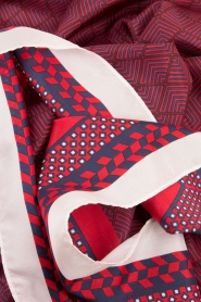 Becksöndergaard |  Scarf Herriot | red  | Picture 3